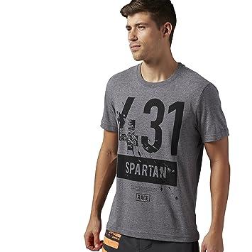 3ae37ab04 Reebok - Camiseta para Hombre Spartan Race Short Sleeve Tri Blend ...
