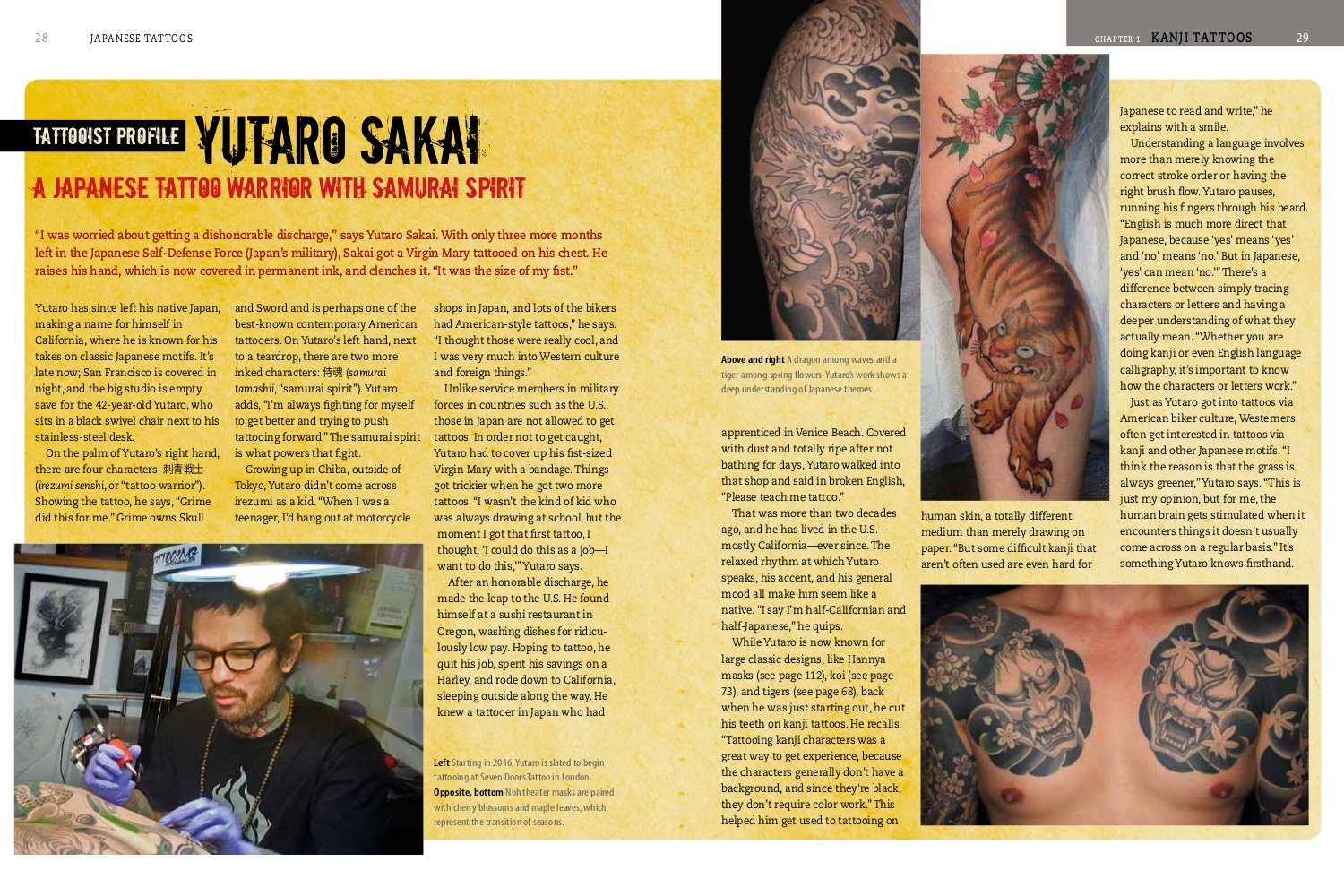 Japanese Tattoos History Culture Design Amazonde Brian