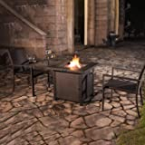 OT QOMOTOP Outdoor Propane Fire Pit Table, 28