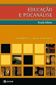 Educação e psicanálise (PAP - Psicanálise)