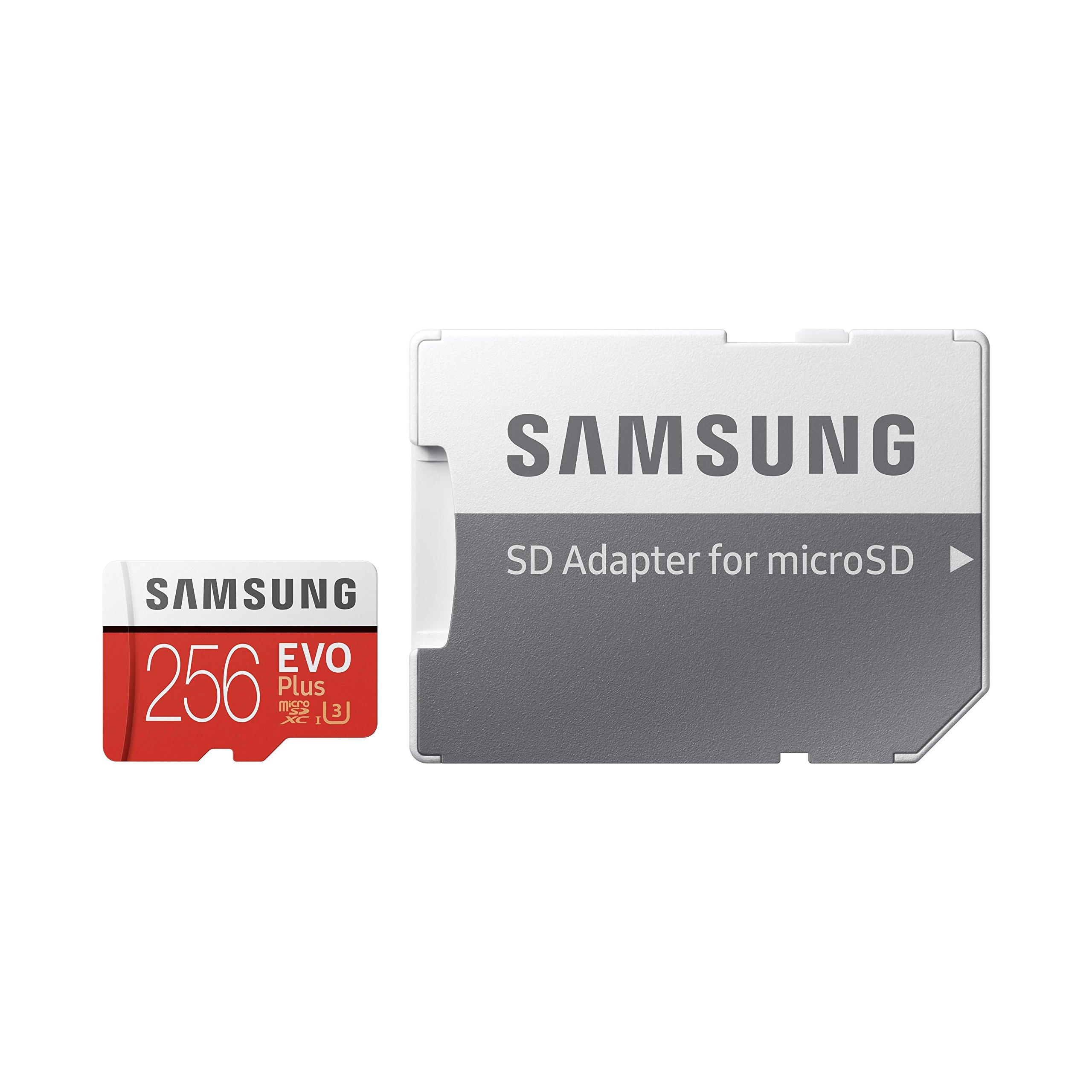 Samsung 256GB EVO Plus Class 10 UHS-I microSDXC U3 with Adapter (MB-MC256GA) by Samsung (Image #8)