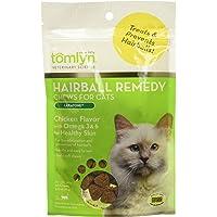 TOMLYN Laxatone Soft Chews Hairball Formula Cat Treat 60 Count, 3.17oz(90g)