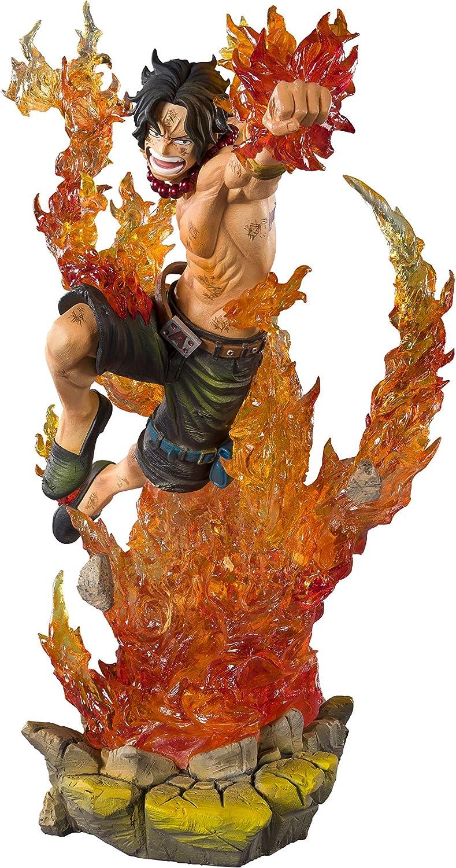 BANDAI - Figurine One Piece - Portgas D Ace Commander Whitebeard 2Nd Division Figuarts Zero 19,5cm - 4573102576705: Amazon.es: Juguetes y juegos