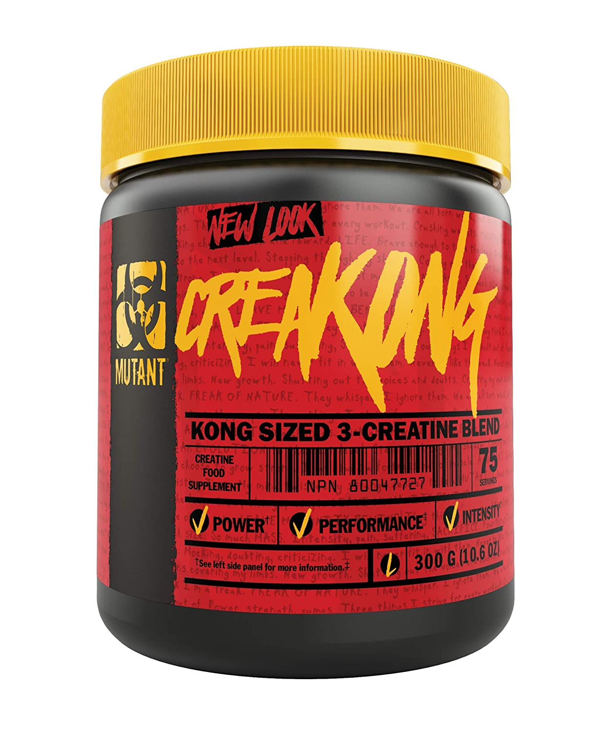 Amazon.com: Mutant creakong – 300 g de entregar Sheer sin ...