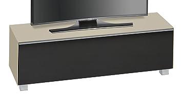 maja mobel soundconcept glass 7736 soundboard glas sand matt akustikstoff schwarz abmessungen bxhxt