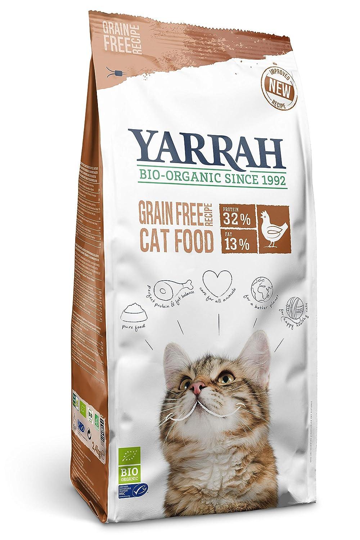 Yarrah Dry Organic Cat Food Grain Free Pack of 1 x 6kg