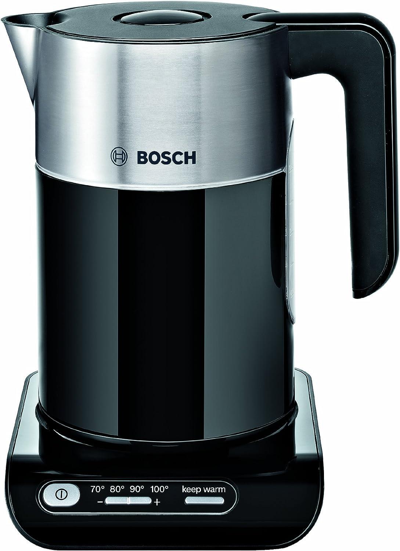 Bosch TWK8633GB Styline Collection Cordless Jug Kettle, 1.5 L - Black