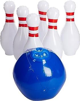 YinArts Giant Inflatable Bowling Set