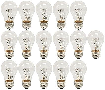 Ge a15 clear ceiling fan bulbs 60w 650 lumens 16 amazon ge a15 clear ceiling fan bulbs 60w 650 lumens 16 aloadofball Images