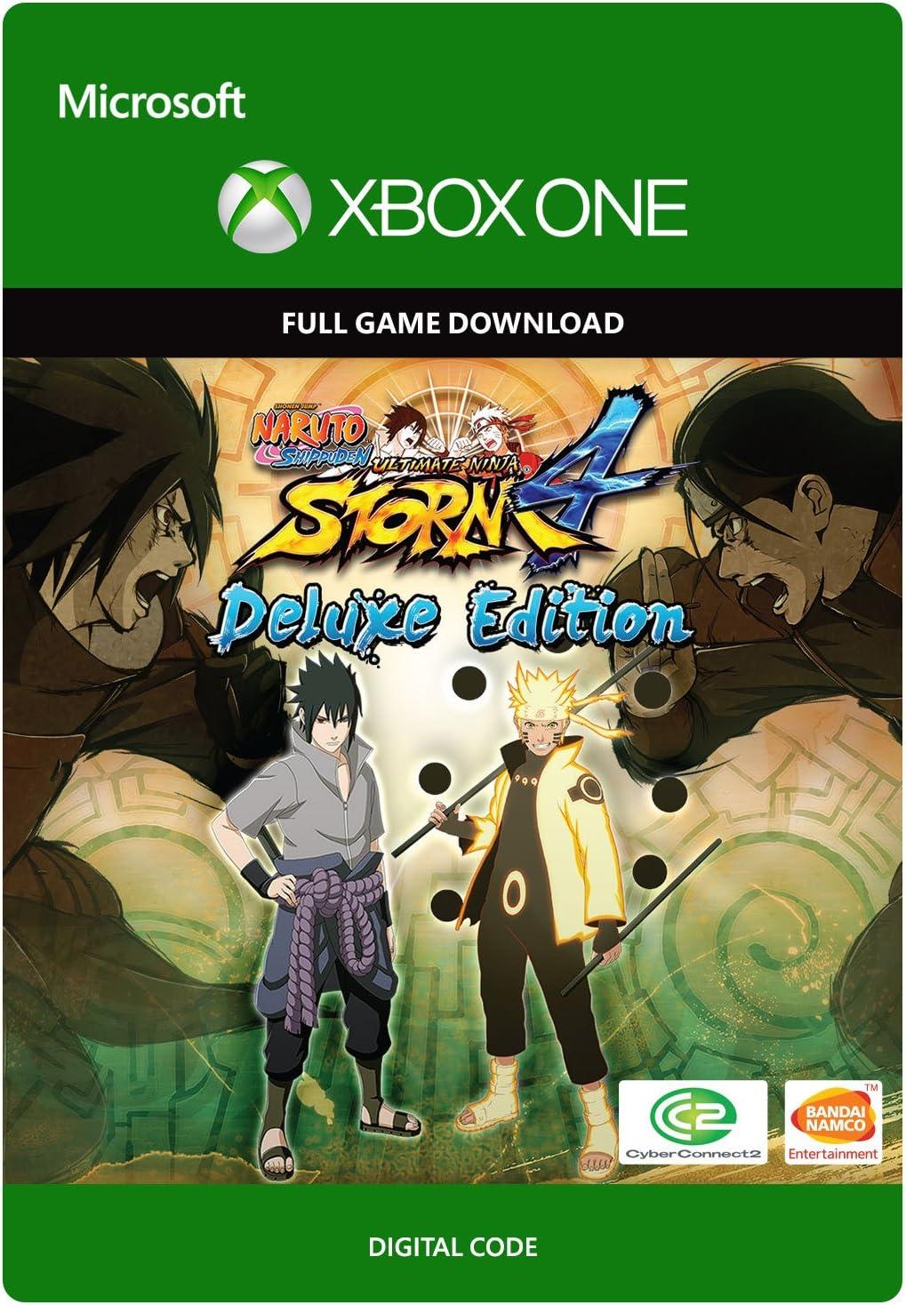 Amazon.com: Naruto Ultimate Ninja Storm 4 - Deluxe Edition ...