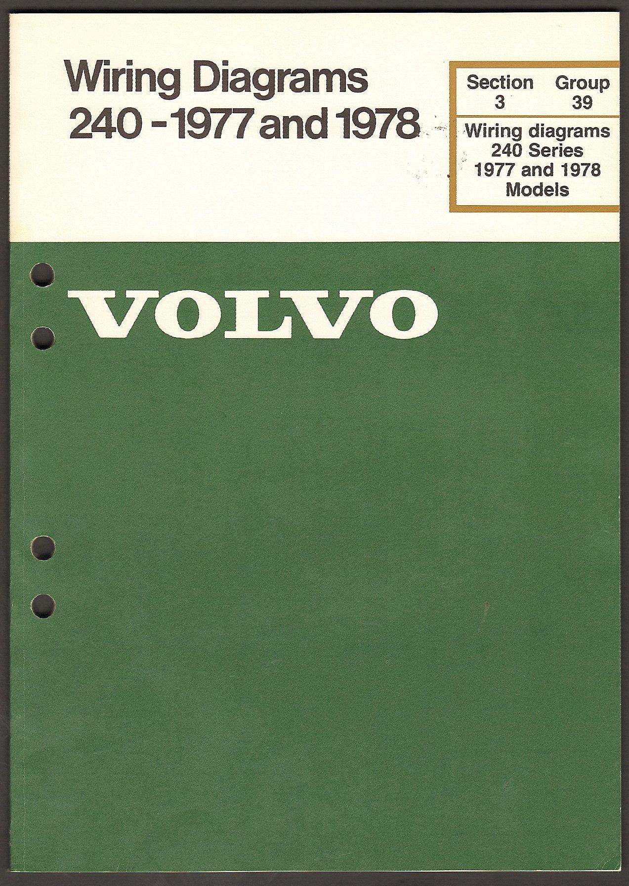 1978 Volvo 245 Wiring Diagram Electrical Diagrams Subaru Brat Series 240 1977 And Amazon Com Books