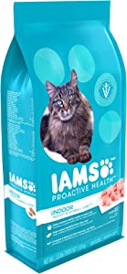 Iams Dry Food Proactive Health Indoor Weight and Hairball Care Dry Cat Food, 3.5 Pound