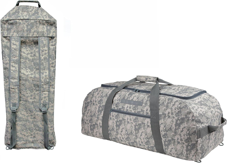 impecgear旅行ACU Duffel迷彩バッグ、ジムアクセサリーバッグ、18