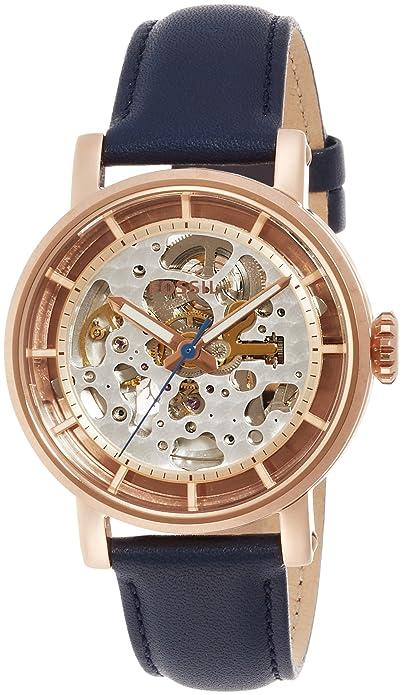 Reloj mujer FOSSIL Azul Roségold Boyfriend Style me3086