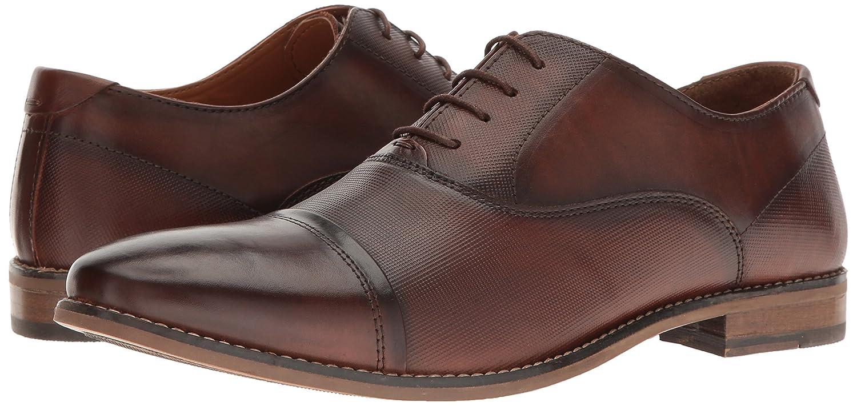 37b752f440a Steve Madden Men's Finnch Oxford, Cognac Leather, 8. 5 M US: Amazon ...