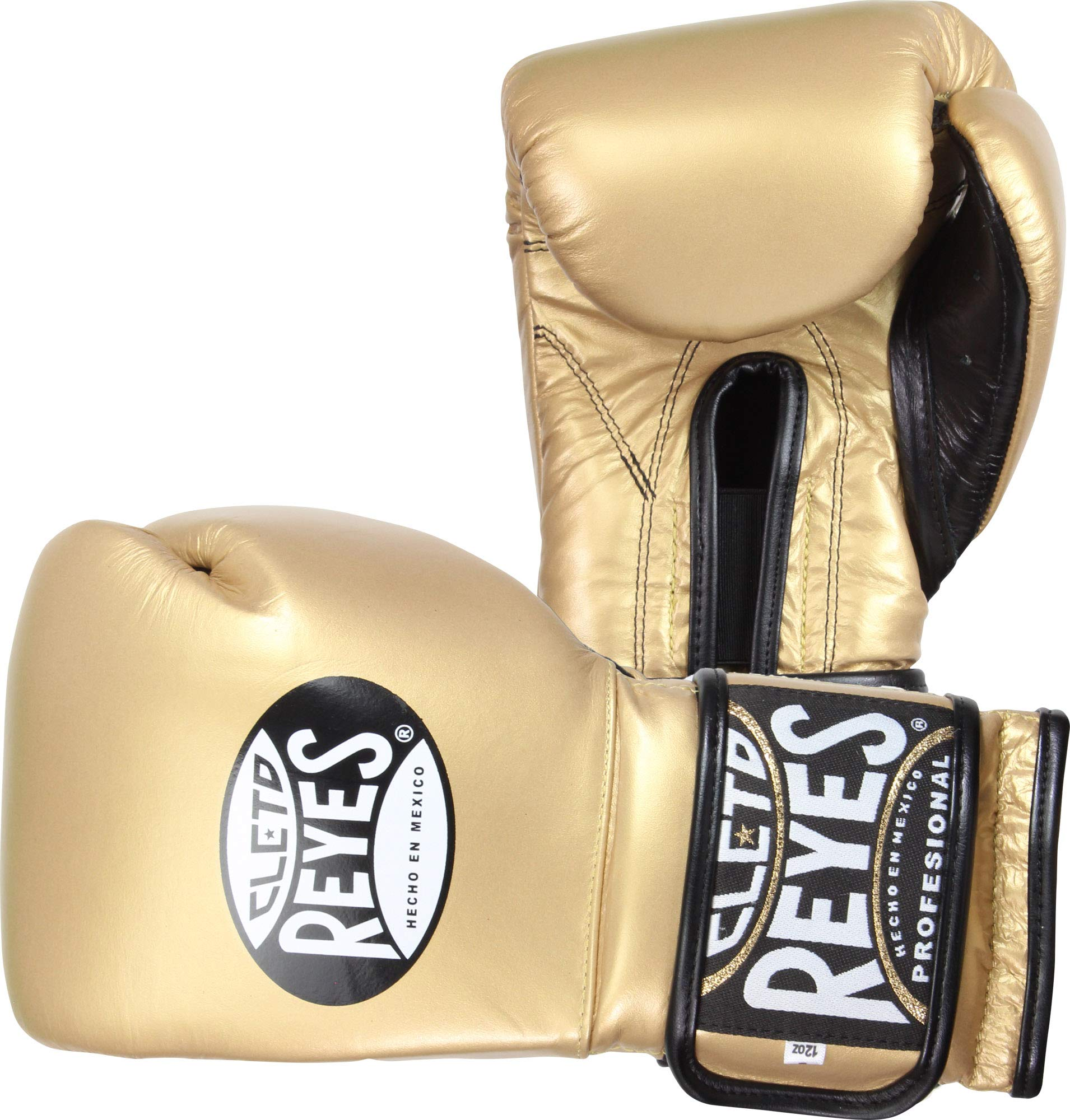 Cleto Reyes Training Gloves with Velcro Closure  (Solid Gold, 12 Ounce)
