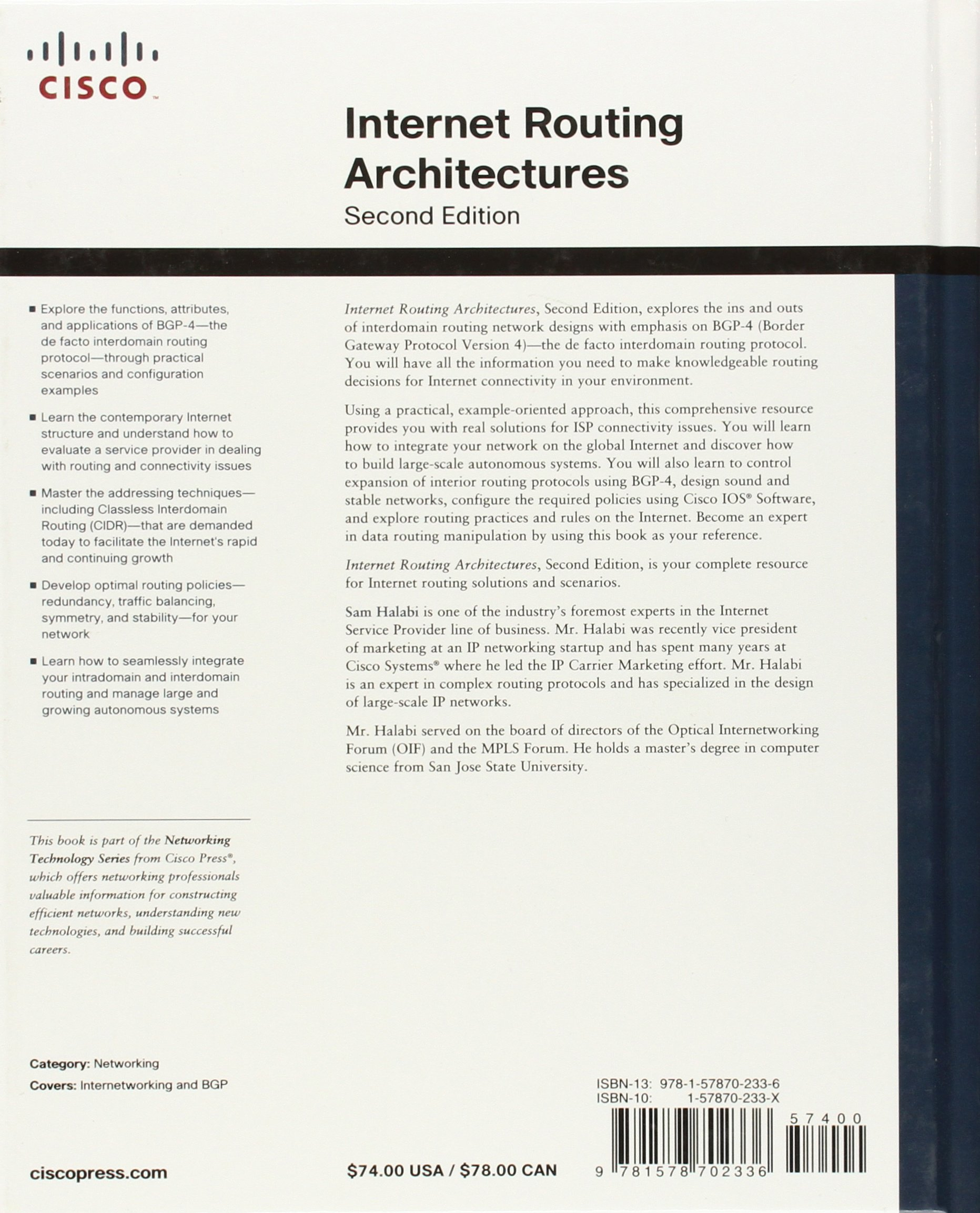 Buy Internet Routing Architectures (Old Edition) Book Online at Low ...
