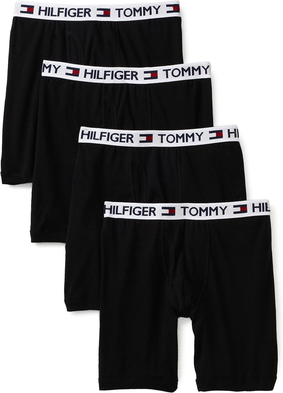 Tommy Hilfiger hombres de 4-Pack Boxer Brief - negro XXL: Amazon.es: Ropa y accesorios