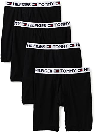 3d200cecb7f3 Tommy Hilfiger Men's Underwear 4 Pack Boxer Brief at Amazon Men's ...