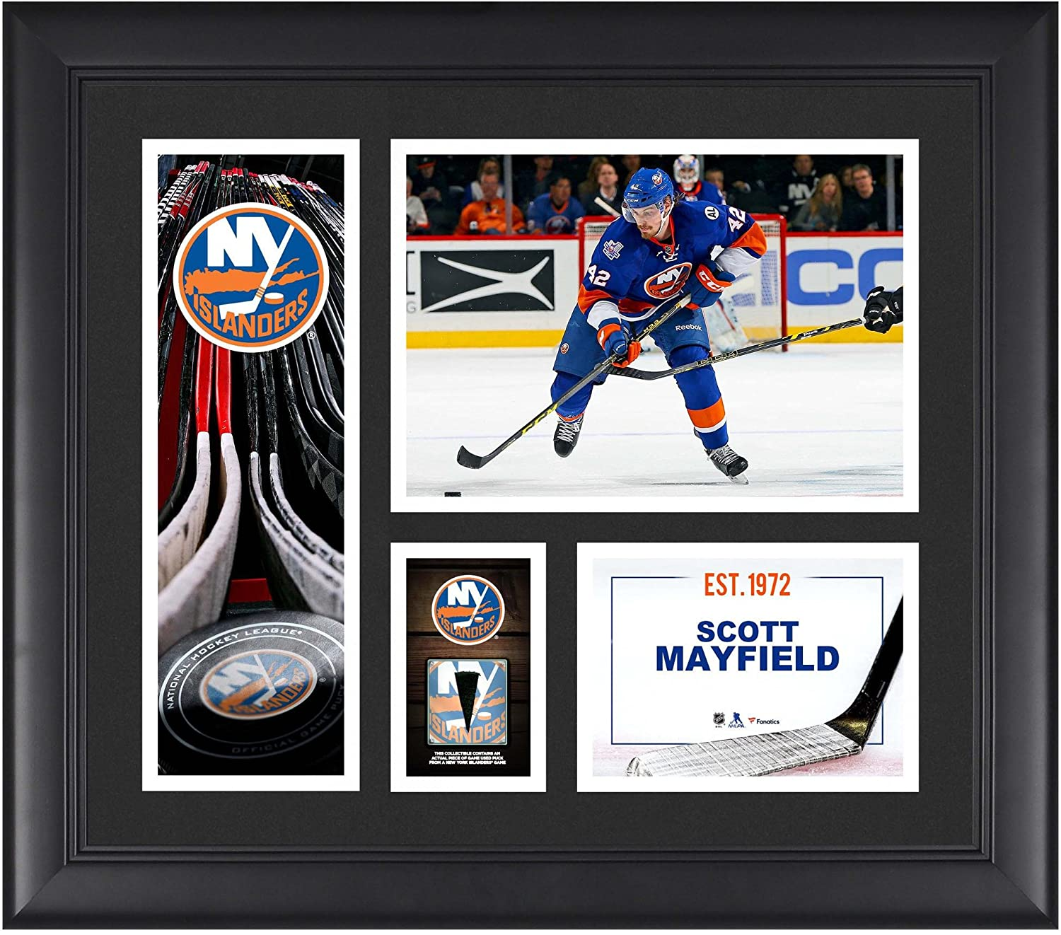 77d46e9ef0ed9 Amazon.com: Scott Mayfield New York Islanders Framed 15