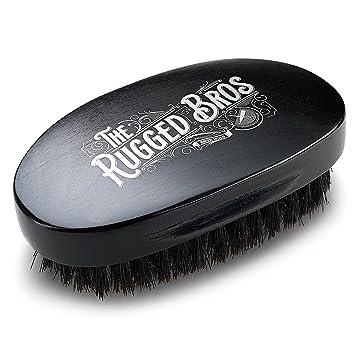 Amazon.com: Cepillo de barba para hombres de The Rugged Bros ...