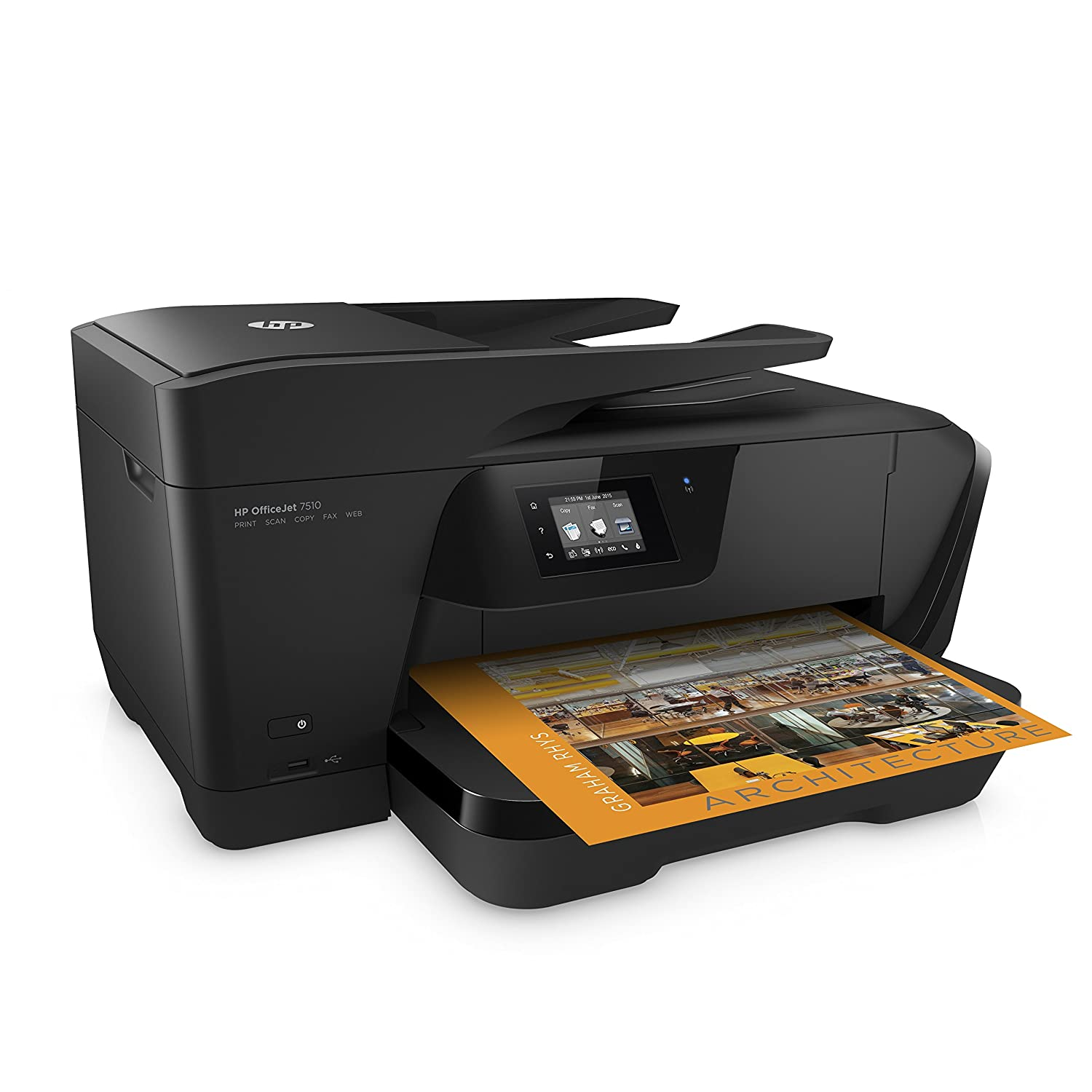 Amazon.com: HP OfficeJet 7510 Wide Format All-in-One Printer with Wireless  & Mobile Printing (G3J47A): Electronics