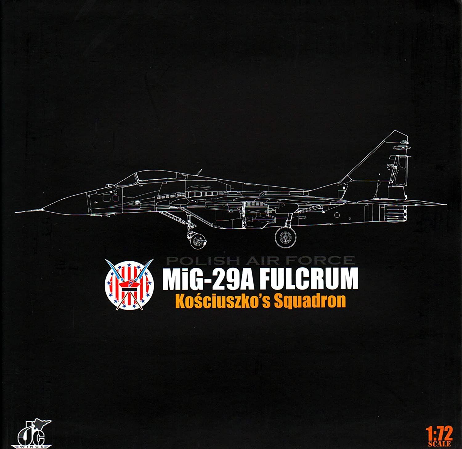 Amazon com: JCW72MG29003 1:72 JC Wings Military MiG-29A Fulcrum