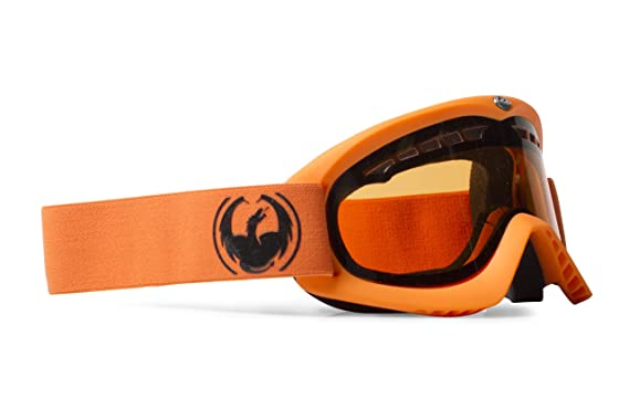 Dragon DX - Gafas de ventisca para esquí naranja matte orange amber smu Talla:M