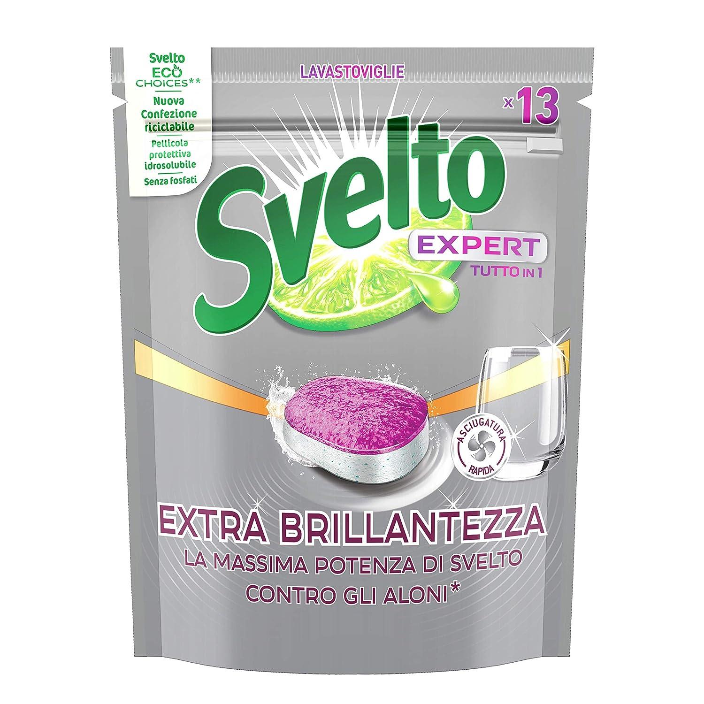 Svelto Expert Detergente para lavavajillas Todo en 1, 8 x 13 ...