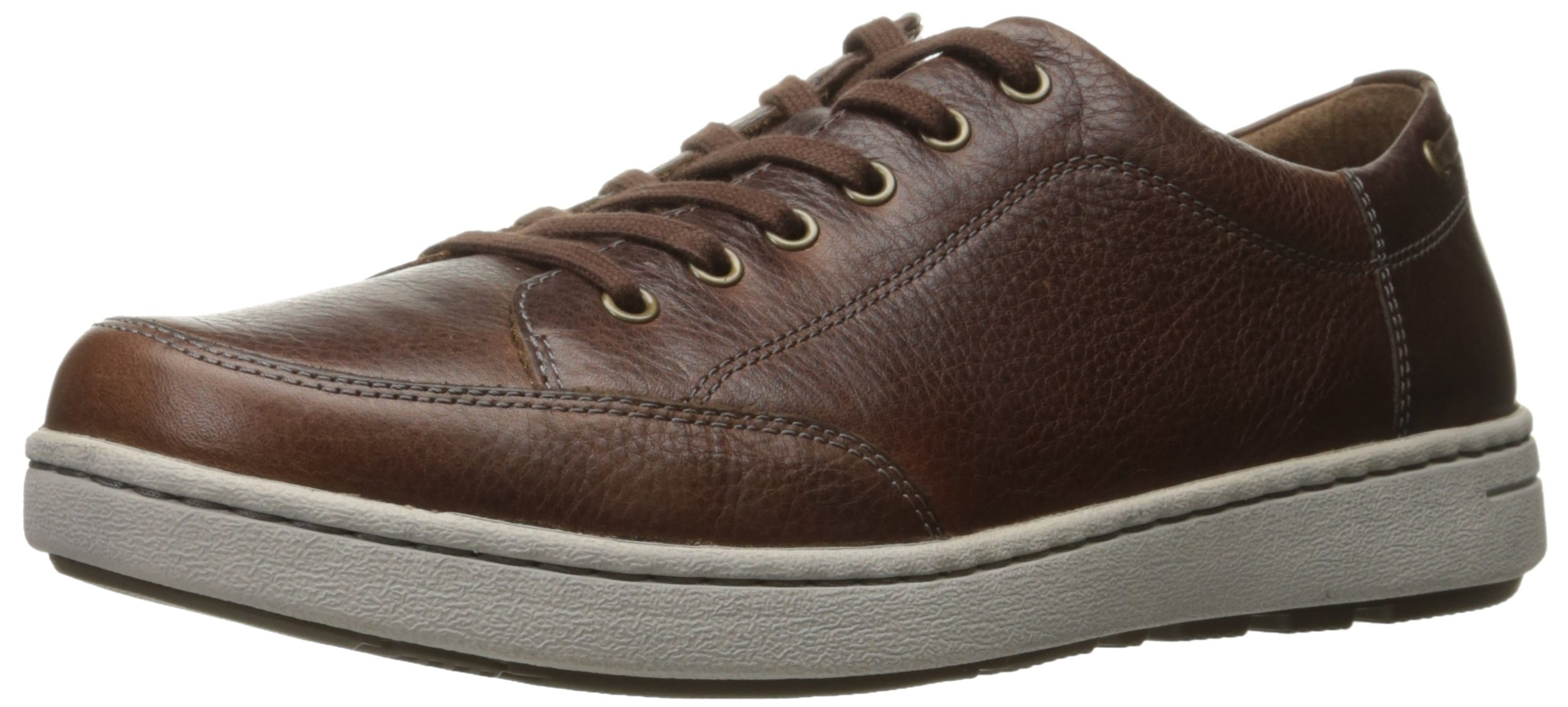 Dansko Men's Vaughn Fashion Sneaker, Brown Tumbled Pull up, 46 EU/12.5-13 M US