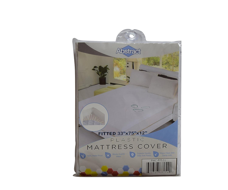 Amazon.com: Protector de colchón de plástico de vinilo 100 ...