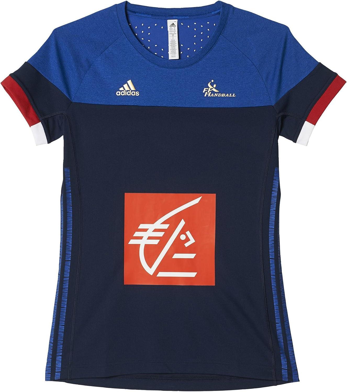 adidas FFHB Francia alas Mangas Camiseta
