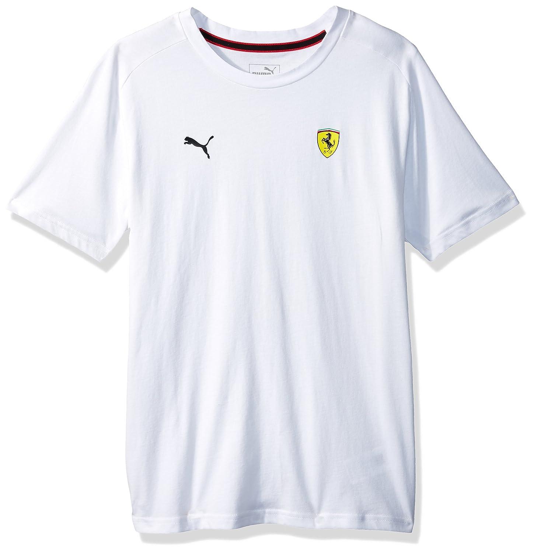 PUMA Mens Scuderia Ferrari Small Shield T-Shirt