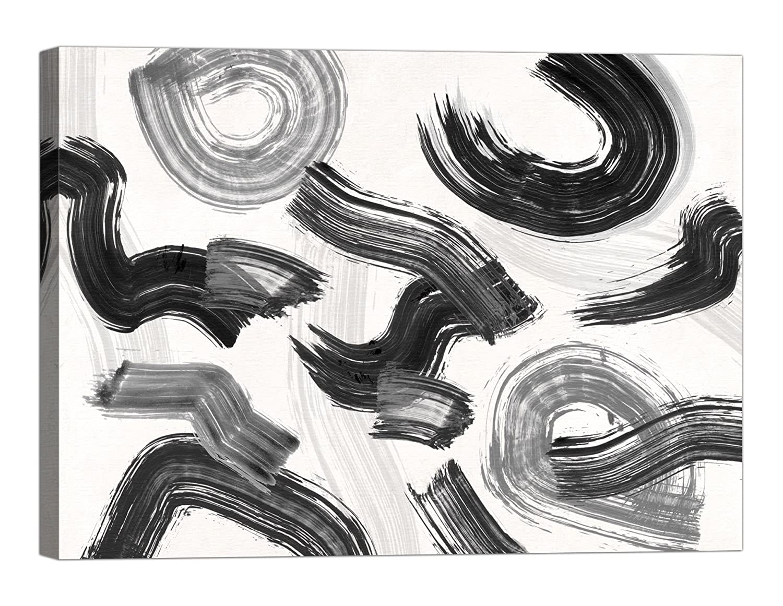 Rahmen Druck auf Leinwand mit Keilrahmen Haru Ikeda Happening 120x90 CM B07BTJLWFP   Charmantes Design