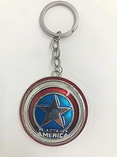 Monogram Marvel Llavero Escudo Capitán América, Multicolor ...