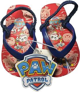 a0cf3bda0 Paw Patrol Toddler Boy s Flip Flop Thong Sandals-Red Navy-Size S 5