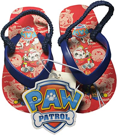6a0b34c730d56 Image Unavailable. Image not available for. Color: Paw Patrol Toddler Boy's Flip  Flop Thong Sandals-Red/Navy-Size S 5