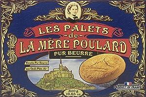Les Palets de La Mere Poulard Pur Beurre French Butter Cookies 300g (10.58oz)