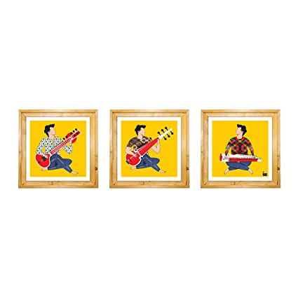 Buy PLUCKED IN INDIA by ONE WALL art frames wall art Online at Low ...