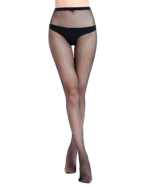 fc0cc2b8024 Image Unavailable. Image not available for. Color  Mesh Pantyhose Women s  Fishnet Lace Stockings ...