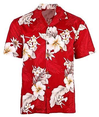 a158dddd3e4d Urban Fox Mens Floral Hawaiian Shirts for Men
