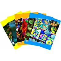 Classmate Long Notebook - 297mm x 210mm, Soft Cover, 172 Pages, Single Line (Pack of 6)