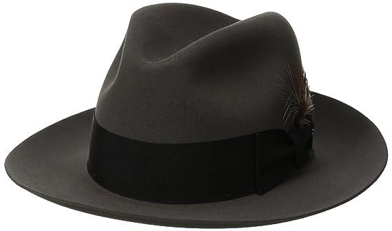 4b204b8ebfe Stetson Men s Pinnacle Excellent Quality Fur Felt Hat at Amazon Men s  Clothing store