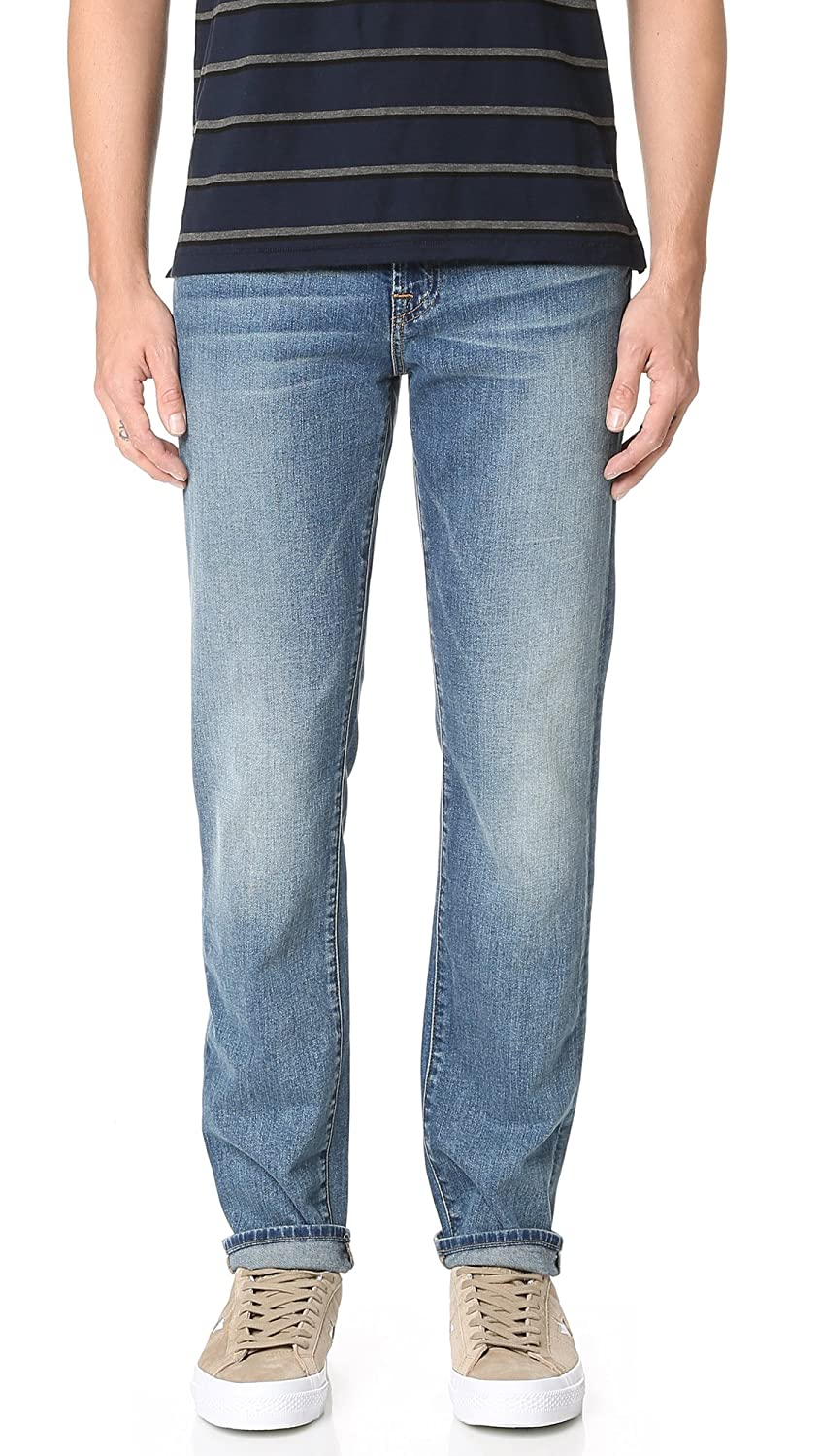 7 For All Mankind Men's Slimmy Slim Straight Foolproof Denim Jeans