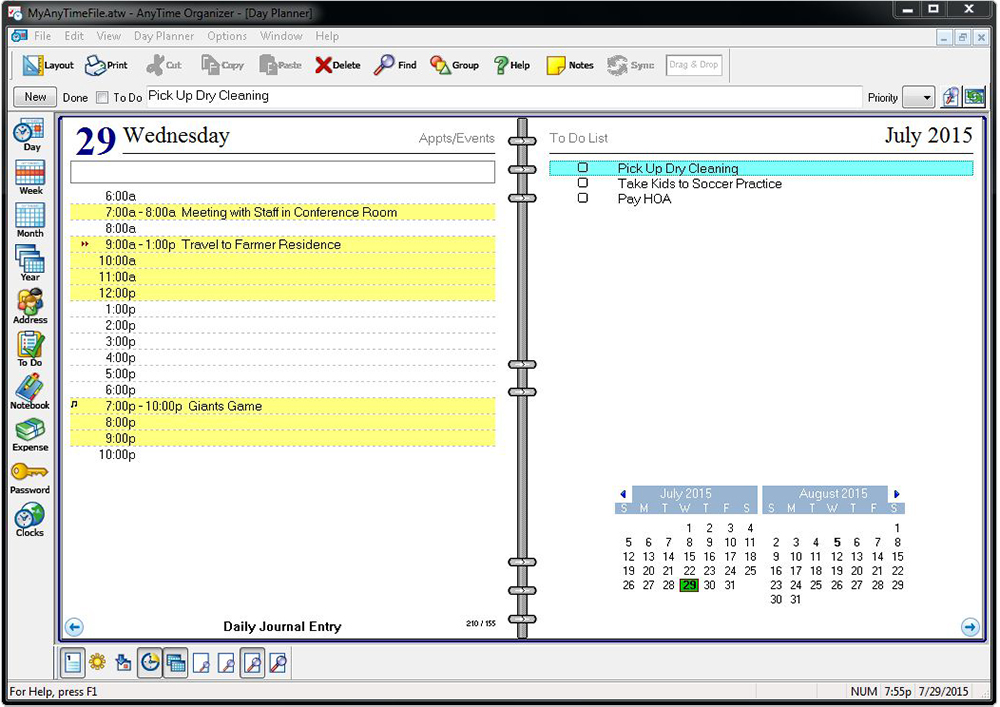 office organizer software. Office Organizer Software L