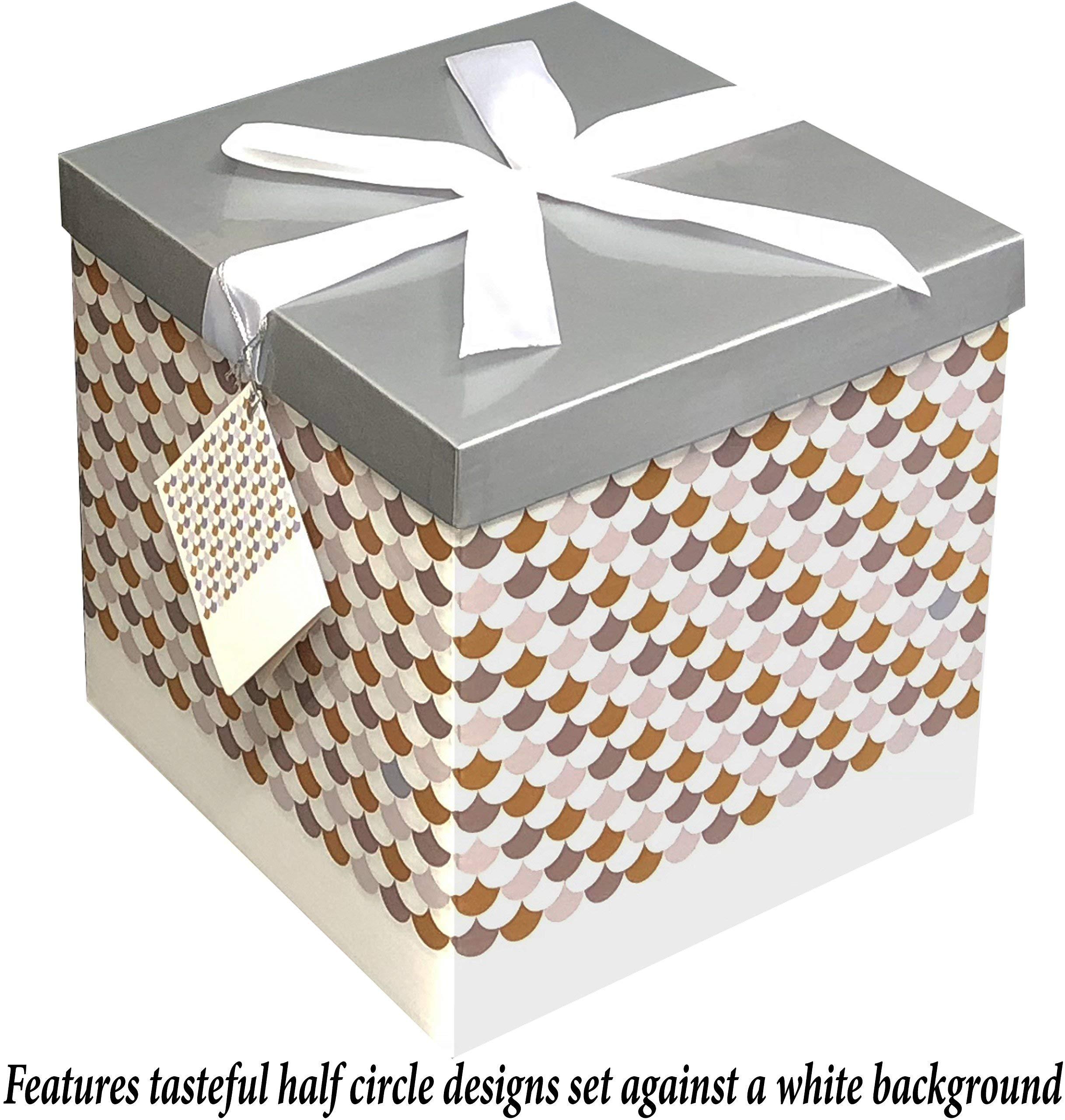 """Amazon Small Decorative Boxes: Amazon.com: Gift Box 7""""X7""""X7"""""""