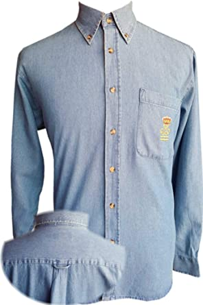 Camisa Vaquera Patrón de Yate (PY) (48): Amazon.es: Ropa y accesorios