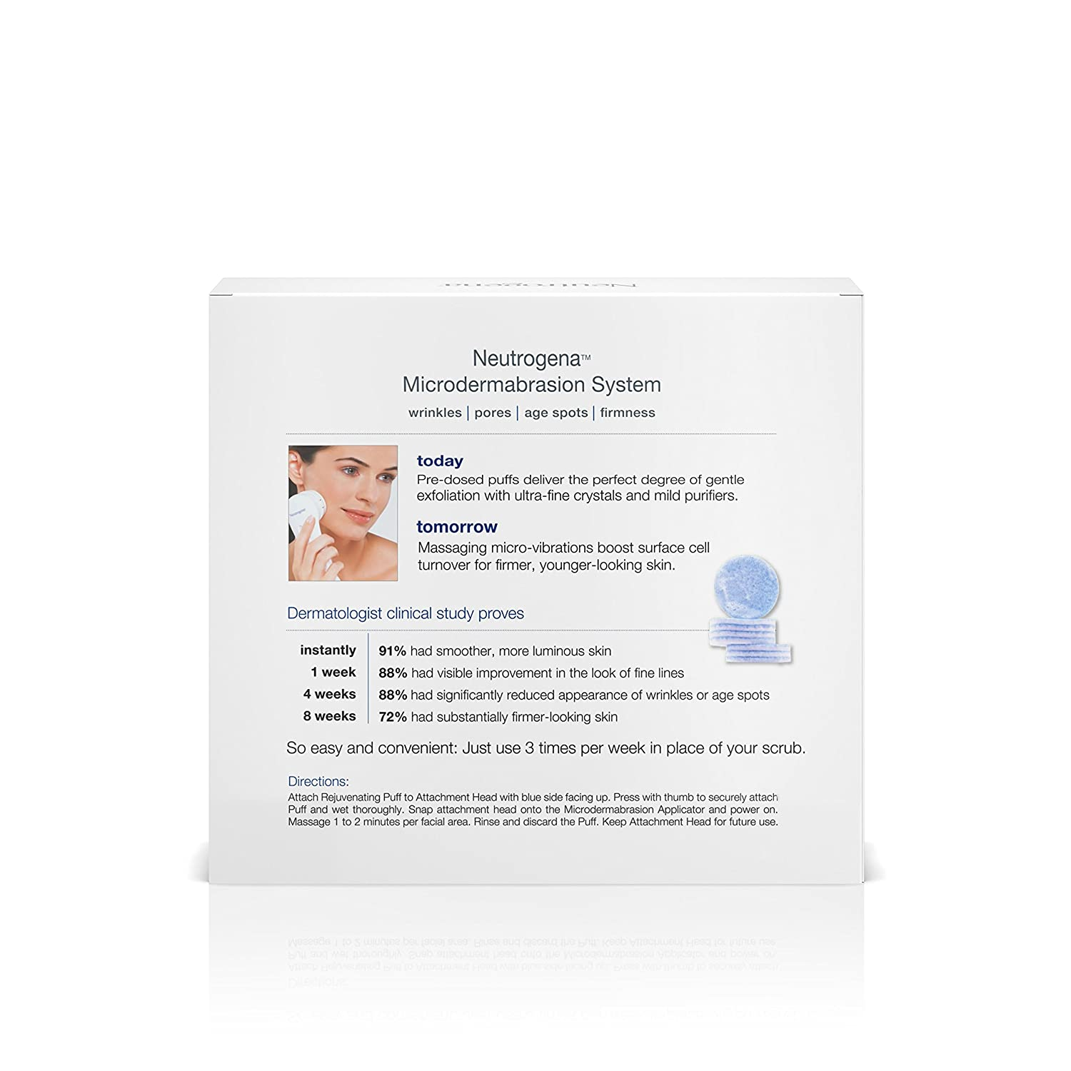 Amazon : Neutrogena Microdermabrasion System, 1 Count : Facial  Treatment Products : Beauty