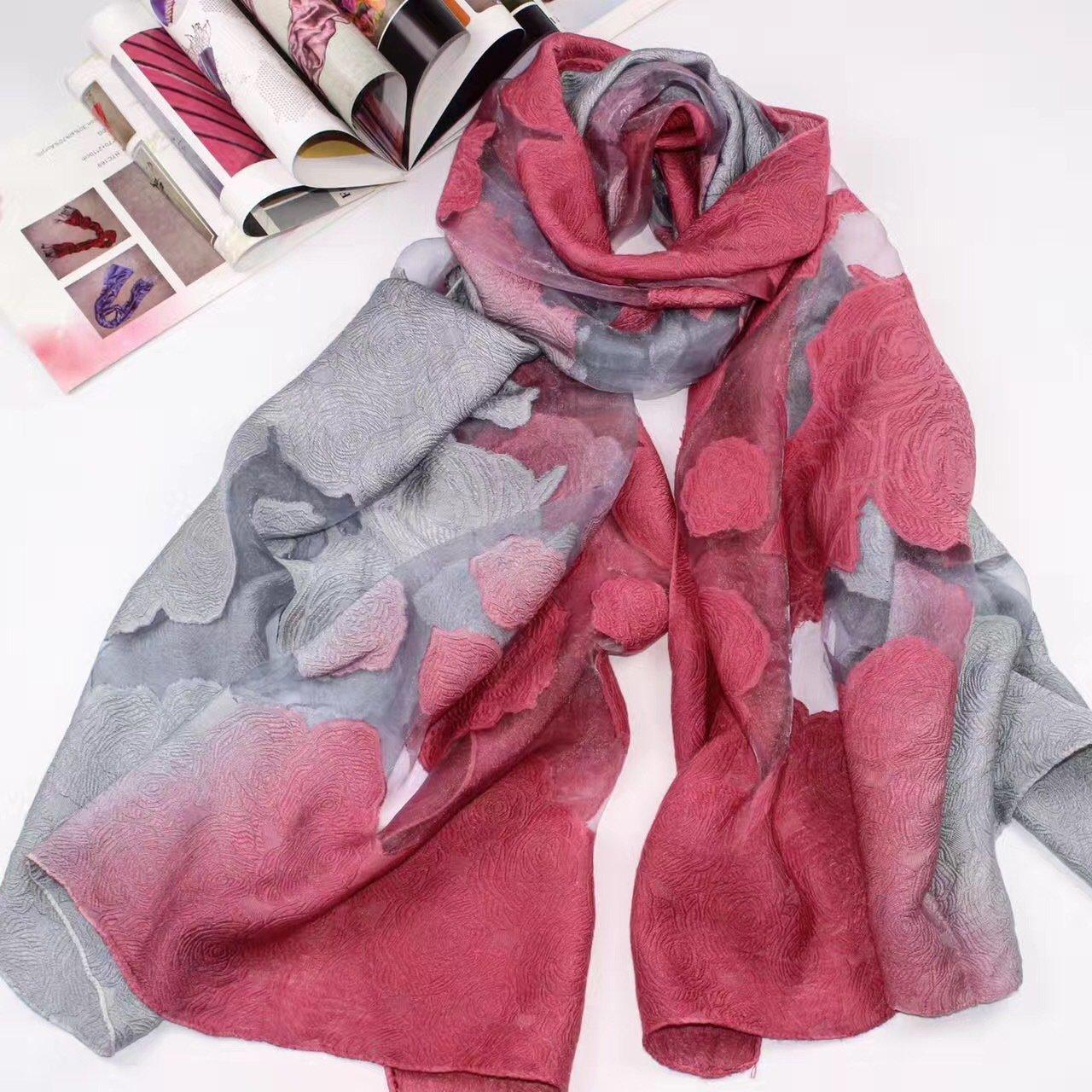 DIDIDD Bufanda-mujer bufanda de invierno gruesa bufanda de punto caliente bufanda larga chal de todo...