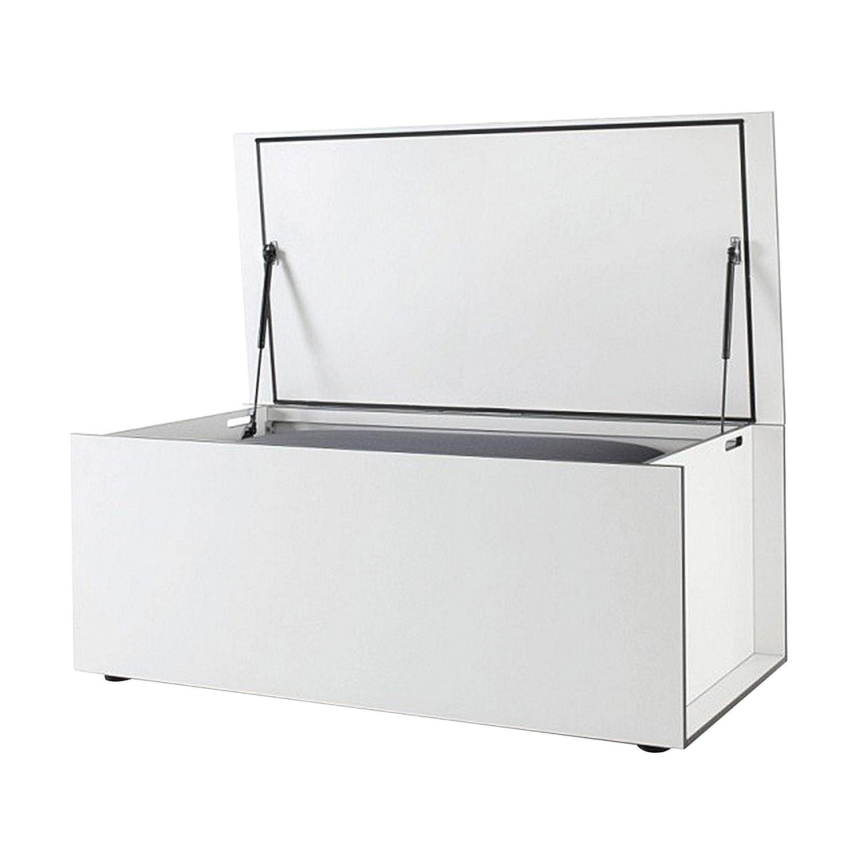 El Pecho Kissentruhe L - weiß 180 x 90 cm, h 75 cm